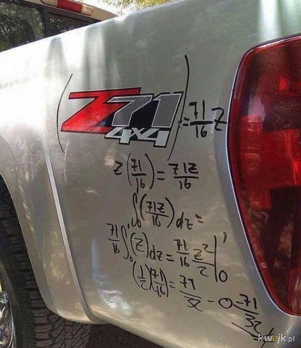 Matematyczna chuliganeria ;-)