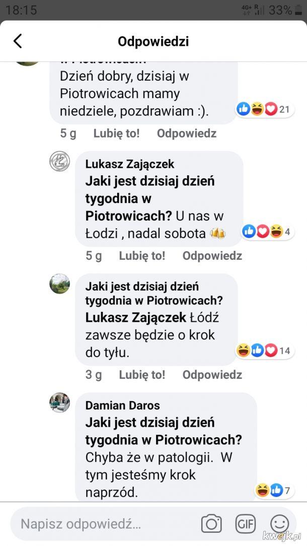 Tym czasem w Łodzi..