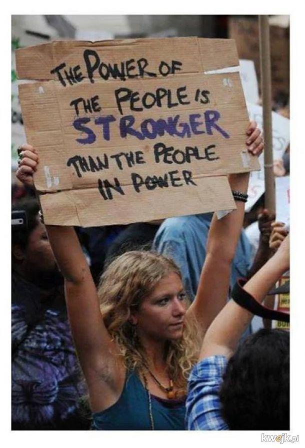 Wladza ludu jest silniejsza niz ludzie u wladzy