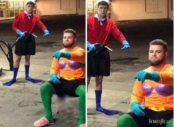 Doceń ten cosplay