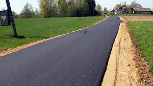Dla przypomnienia, asfalt powinien leżeć na glebie