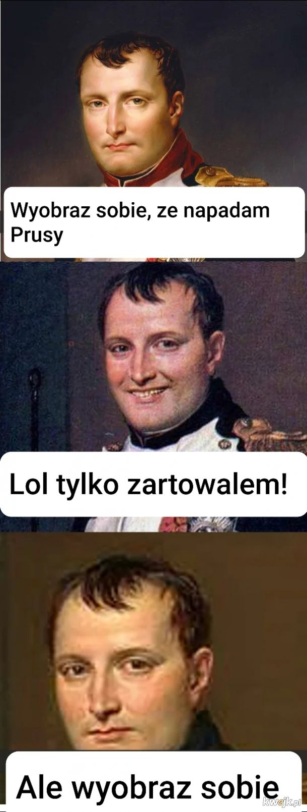 Just Napoleon things...