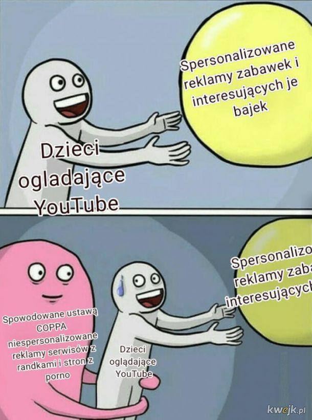 Dzieci na youtube