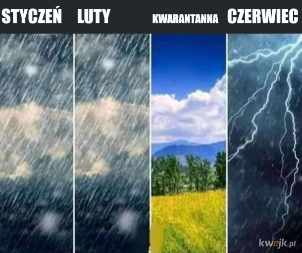 Pozdrowienia od pani pogodynki
