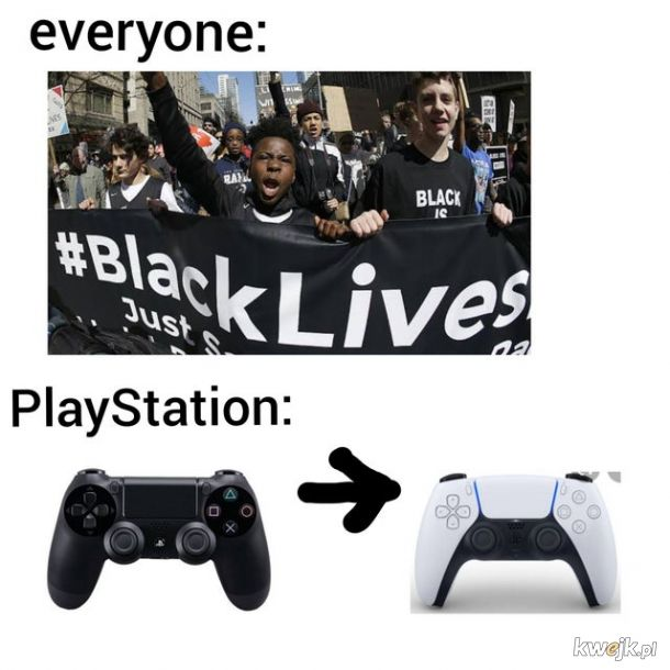 Sony to rasistowskie korpo wspierające białą supremacje