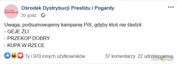 No i Trzaskowski też zły