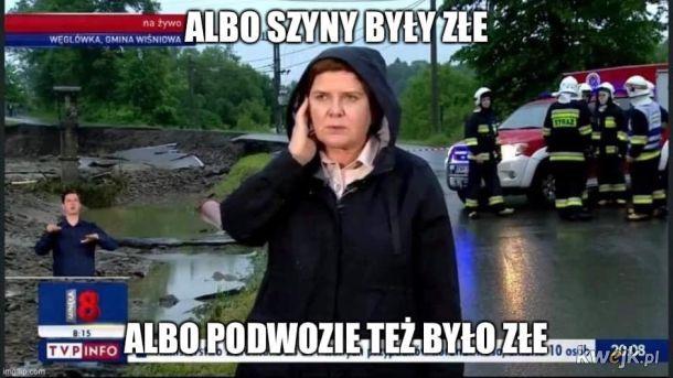 Szydło została reporterką TVP