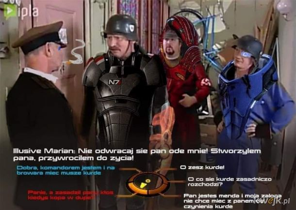 Dziwny ten Mass Effect....