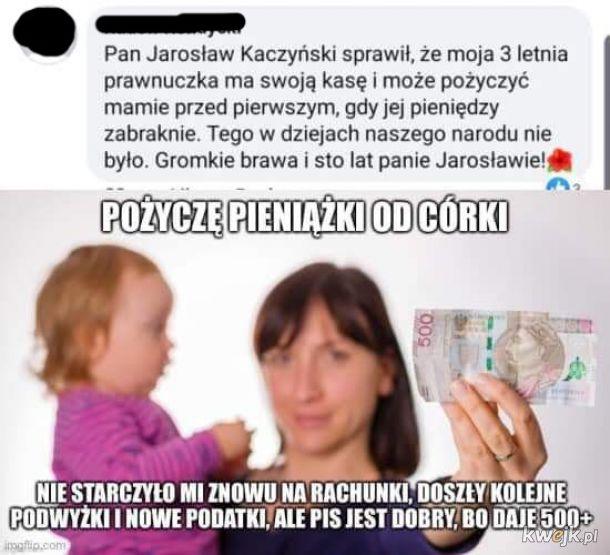 Pożyczanie od córki