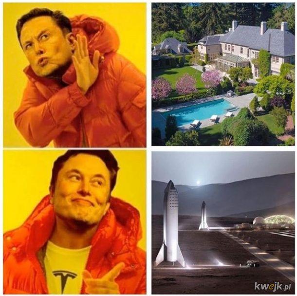 Po co komu dom jak się ma miliardy hajsu