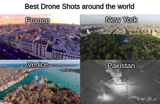 Ujęcia z dronów są przepiękne