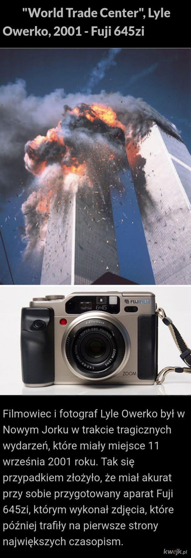 Historyczne fotografie były zrobione tymi aparatami
