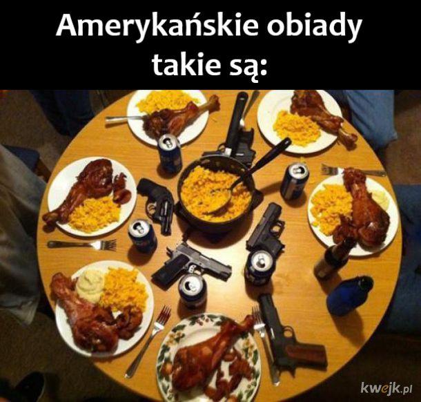 Amerykański obiad
