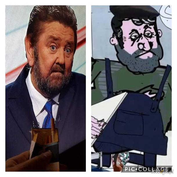 Dziwne podobieństwo...
