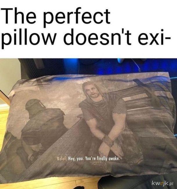 Idealna poduszka nie istn...