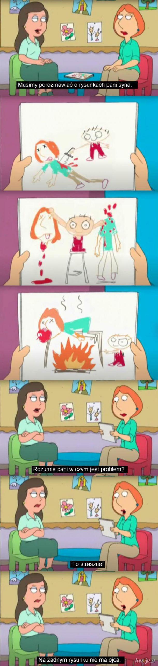 Niepokojące rysunki