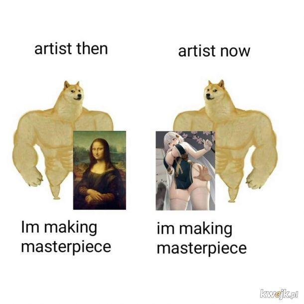Sztuka ma się dobrze.