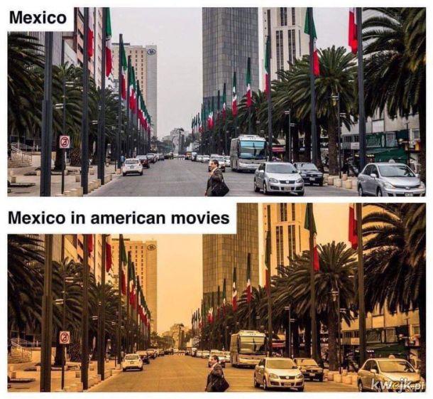 Meksyk na filmach