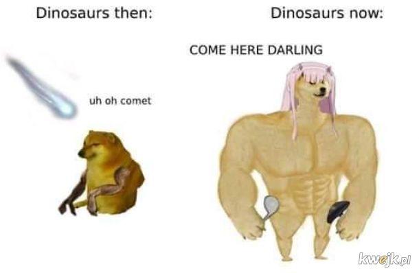 Tak, wiem że nie dinozaur tyłko klaxozaur