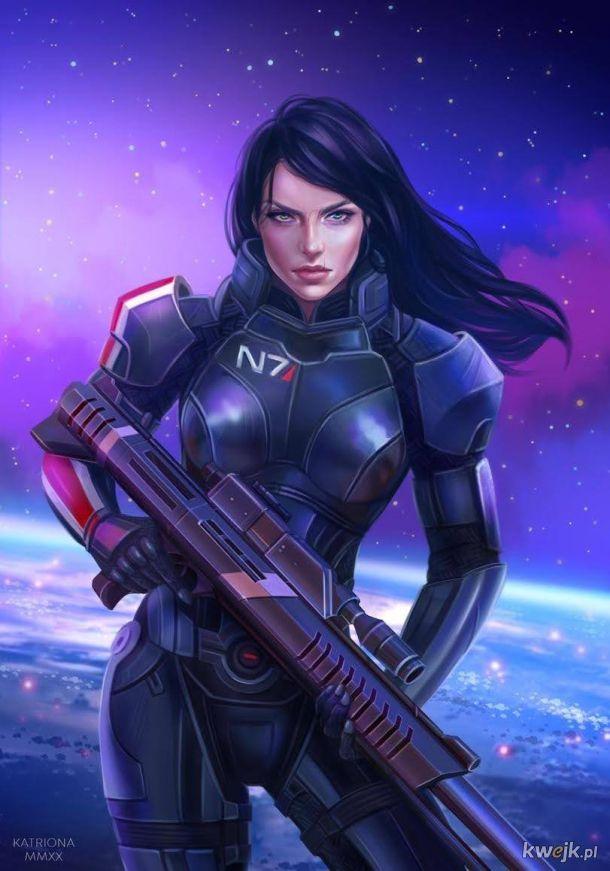 Shepard z mass efecta w wersji żeńskiej
