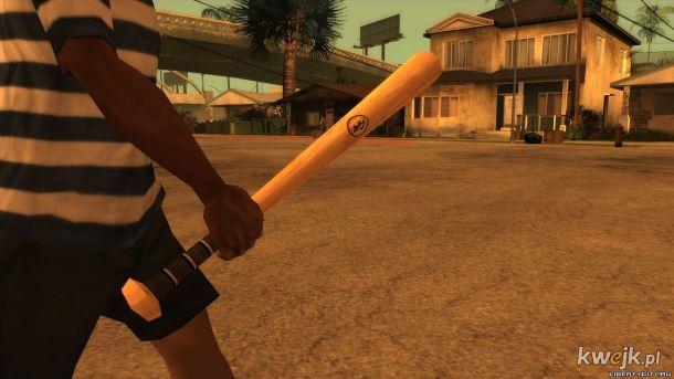 I ty możesz uczcić pamięć Floyd`a wyciągając baseball w GTA Sanandreas