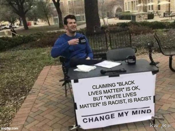 White lives don't matter
