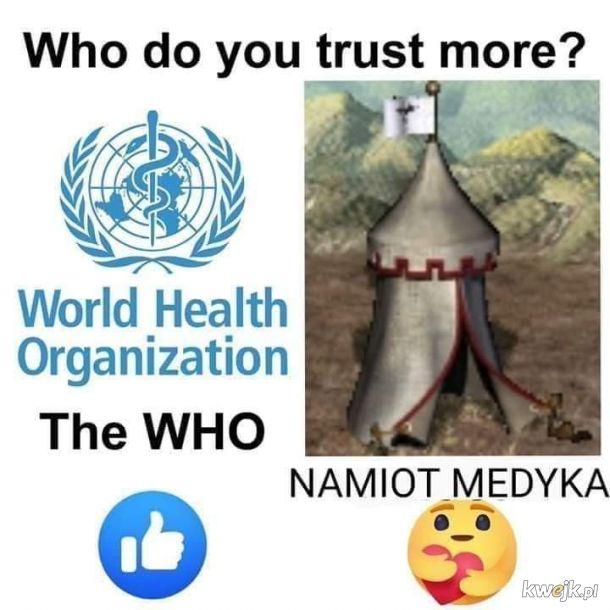 Komu ufasz?