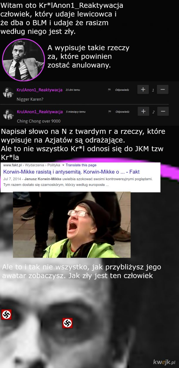 """Współ-lewacy na kwejku """"we have been tricked backstabbed and quite possibly bamboozled"""""""
