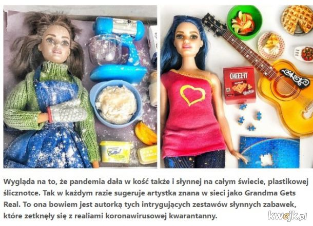 Łagodzenie obostrzeń: pandemia w świecie Barbie