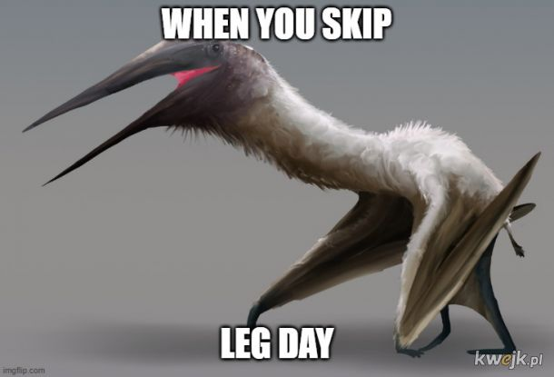 Skipping your leg day