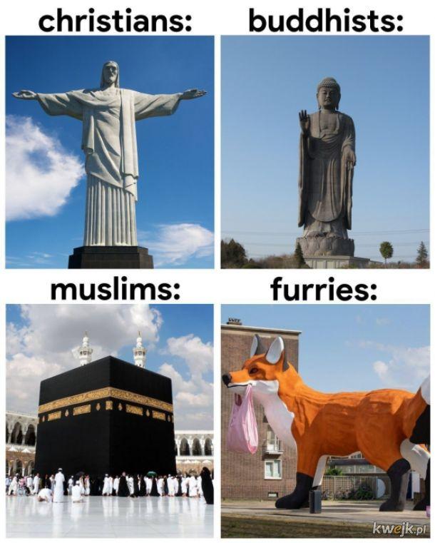 Furry to religia