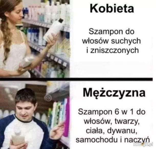 Kobieta vs Facet
