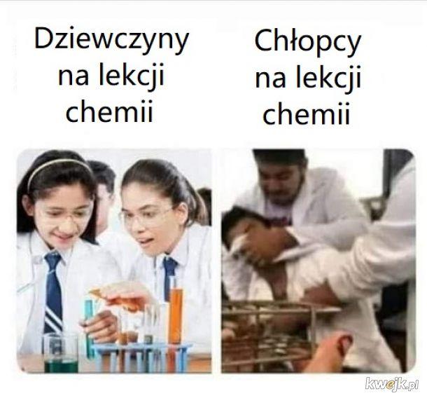 Lekcja chemii