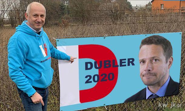Dubler, prawdziwej prezydent