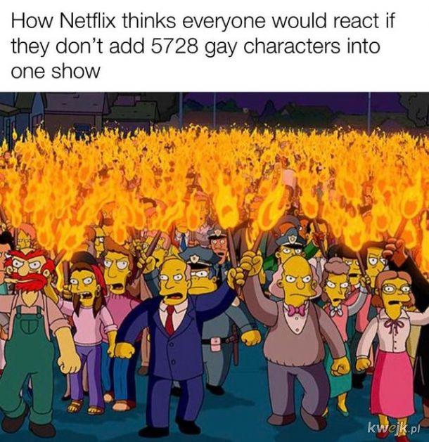 Oj Netflix, Netflix...