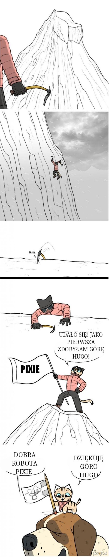 Potężna alpinistka