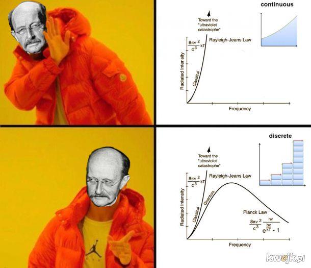 Memowa lekcja historii fizyki