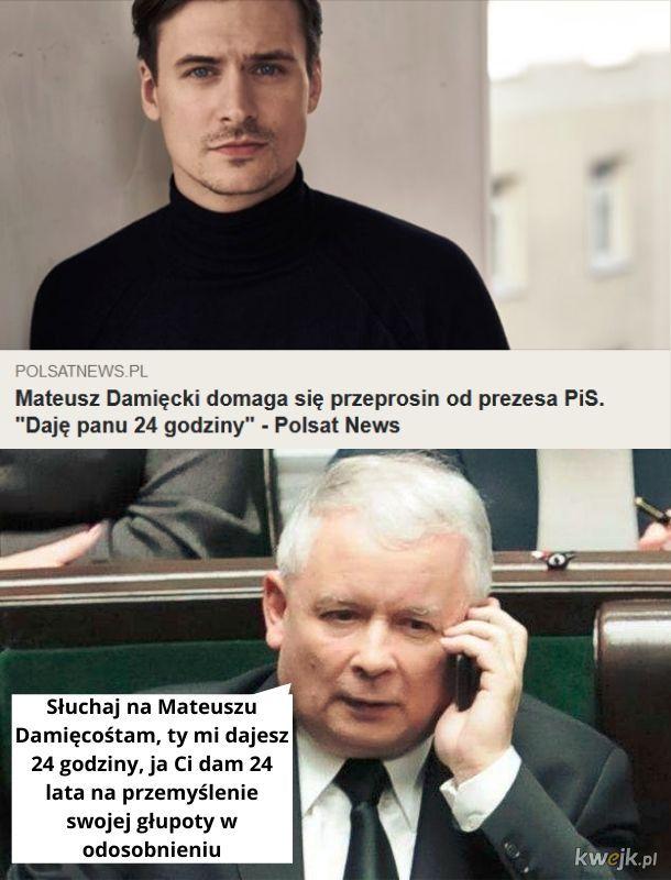 Biedny Mateusz Damięcośtam :(
