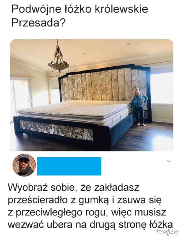 Mam pokój wielkości tego łóżka