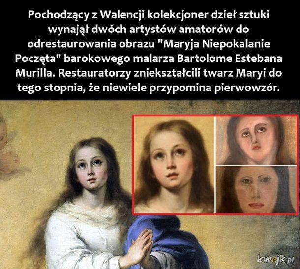Odrestaurowany obraz