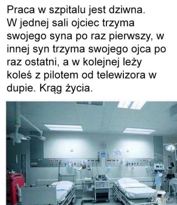 Praca w szpitalu