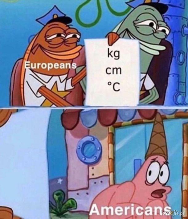 Europa vs Ameryka