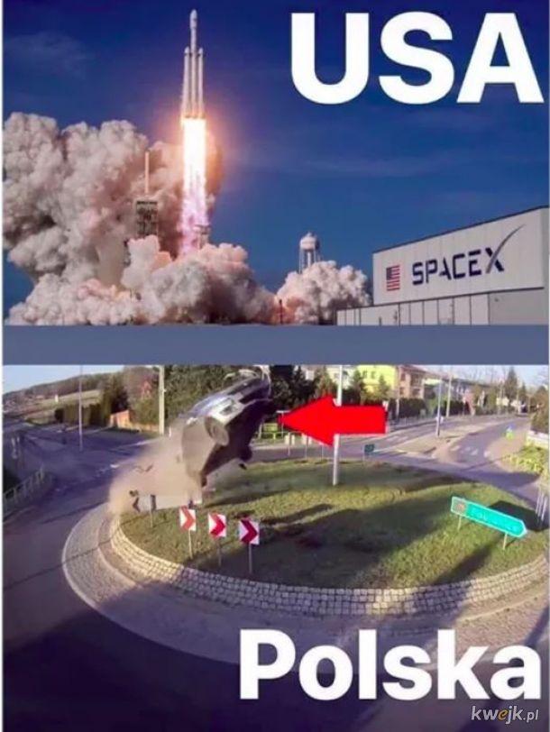 Też mamy SpaceX