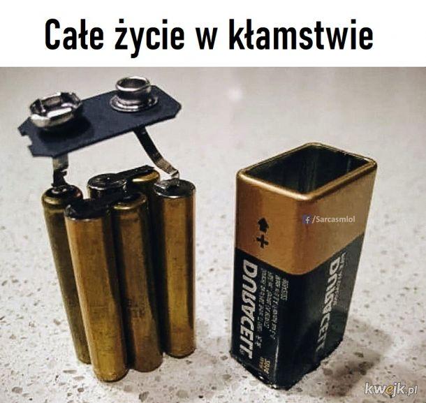 To nie jedna wielka bateria tylko sześć małych