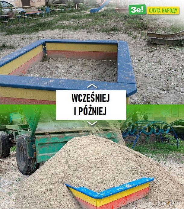 Dlaczego piasek znikał