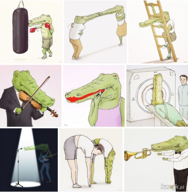 Trudno być krokodylem