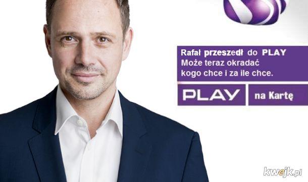 Rafał przeszedł do Play