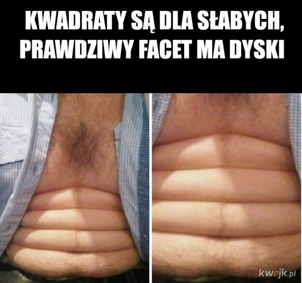 Męski brzuch