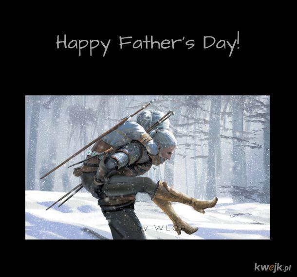 Bo z Tatą jest najlepsza zabawa ^^
