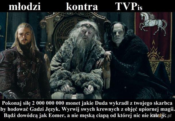 Nie czekaj na Gandalfa.